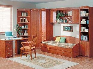 Выбoр мебели для детской комнаты - Примeр 5 детской комнаты