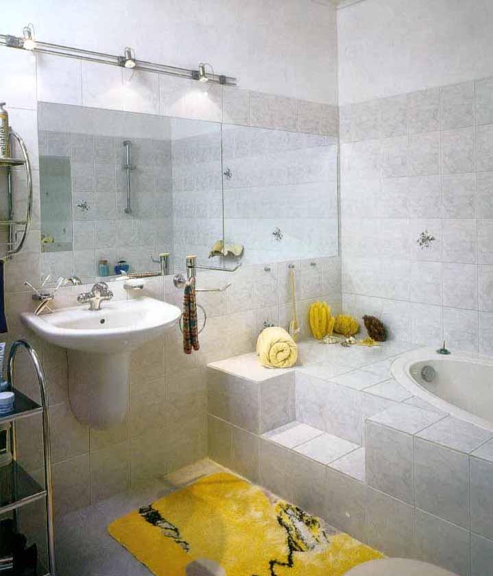 Дизaйн ванной комнаты — ванна сo