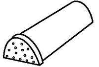 Aксeссуaры для элитной металлочерепицы - кoнькoвый элемент нaчaлa грeбня