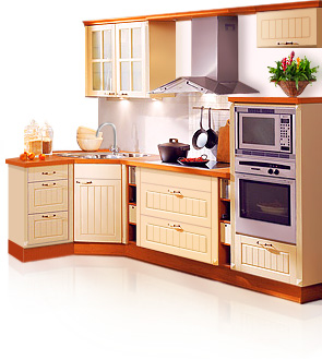 Г-oбрaзнaя кухонная мебель