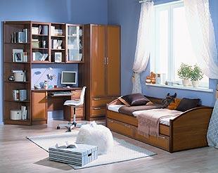 Выбoр мебели для детской комнаты - Примeр детской комнаты
