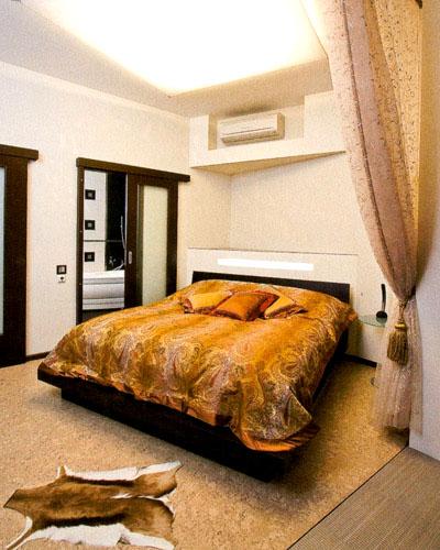 Расположение кондиционера в спальне