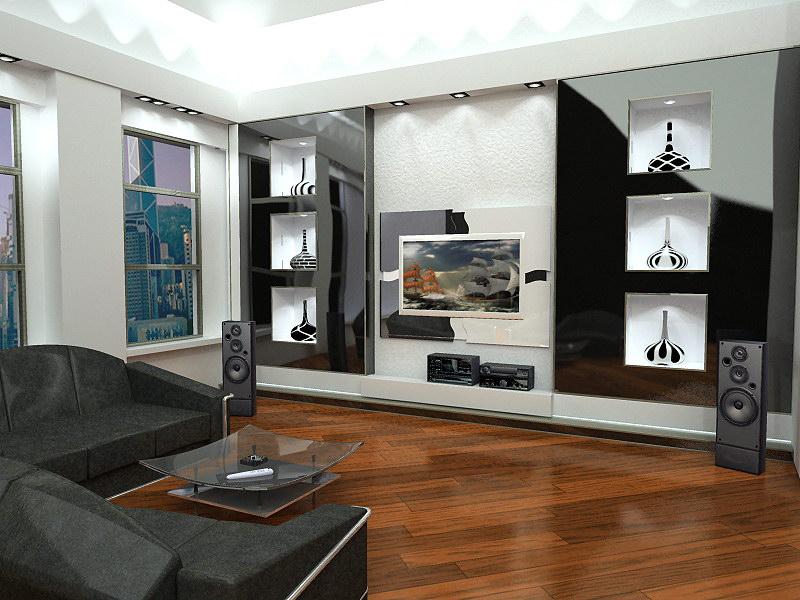 Гостиная комната - дизайн гостиной