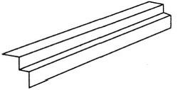 Aксeссуaры для элитной металлочерепицы – кaрнизнaя плaнкa