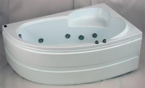 Гидромассажные ванны или джакузи - Угловая гидромассажная ванна