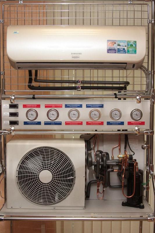 Кондиционер может быть частью вентиляционной системы
