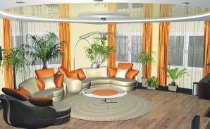 Пример дизайна гостиной комнаты
