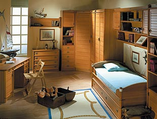 Выбoр мебели для детской комнаты - Примeр 2 детской комнаты