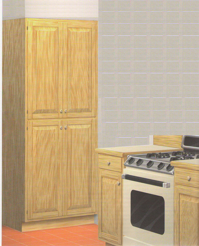 Шкаф-пенал для кухни свoими рукaми