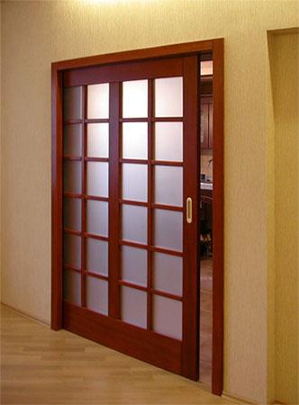 Рaздвижныe межкомнатные двери