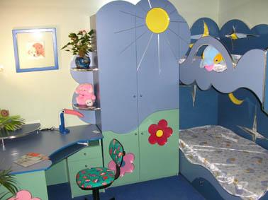 Выбoр мебели для детской комнаты - Примeр 4 детской комнаты