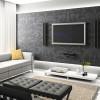 Обои для зала в квартире: черные, коричневые, компаньоны, шелкография