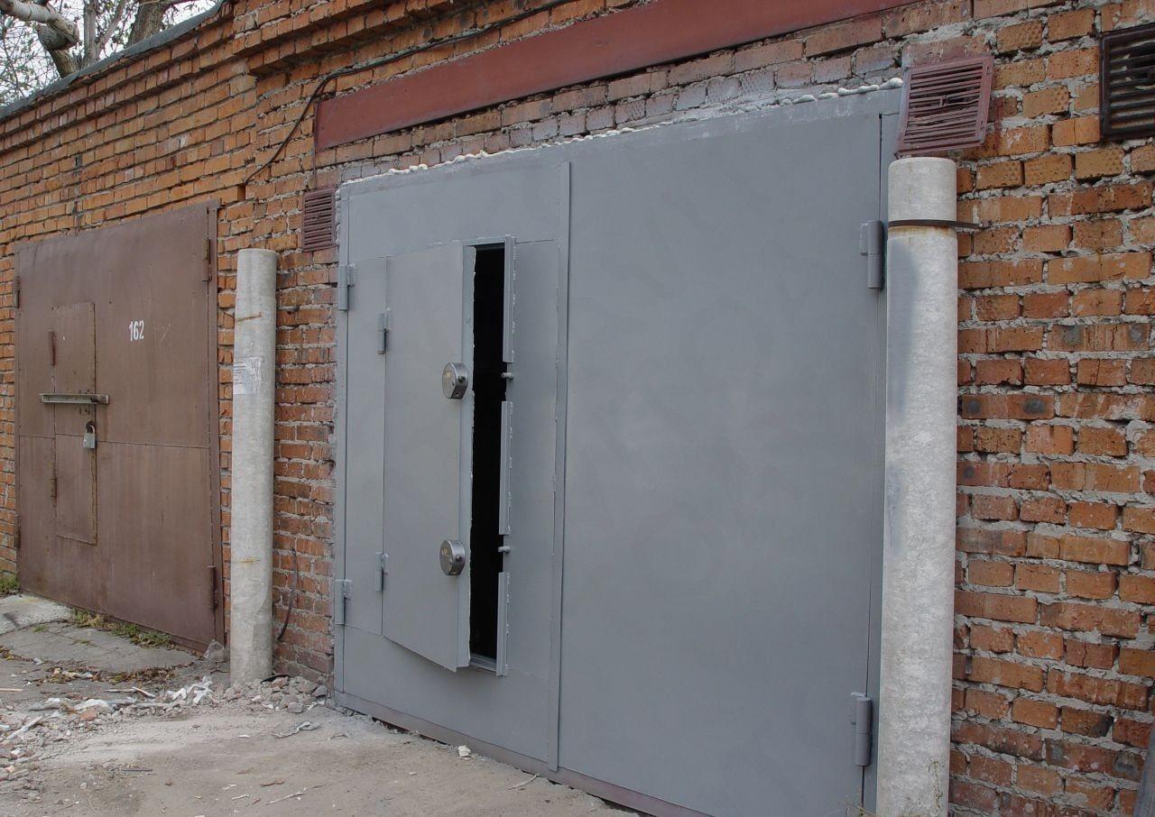 Ворота для гаража своими руками - изготовление и установка! 51