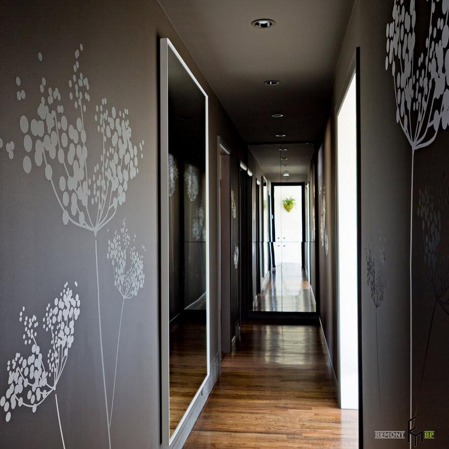 обои красивые в коридор фото