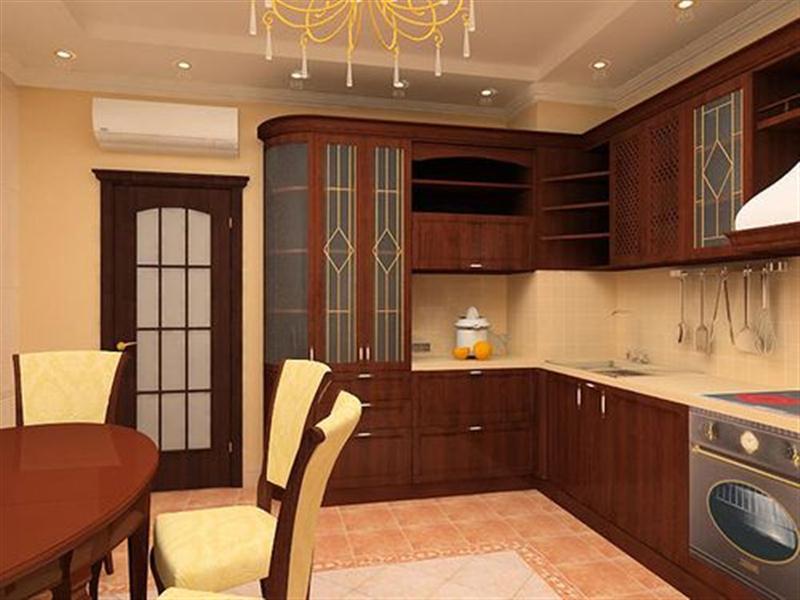 варианты ремонта кухни с балконом фото