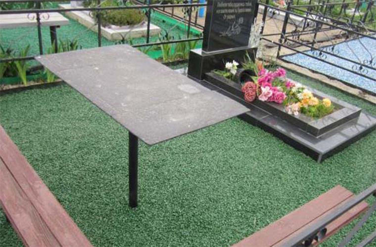 Ландшафтный дизайн могилы своими руками