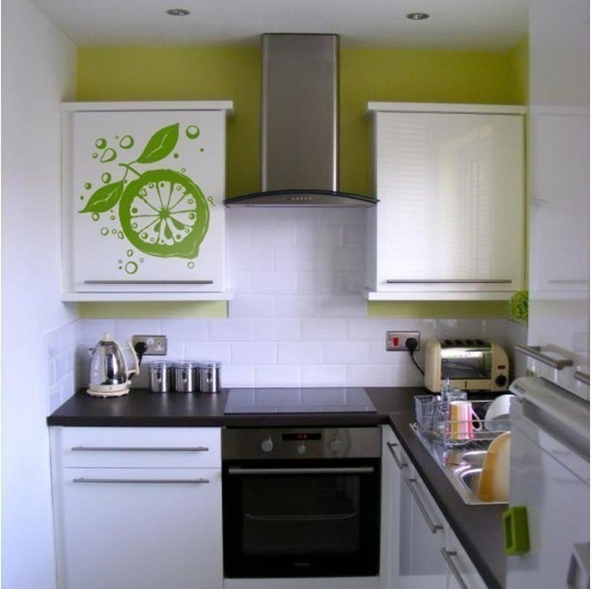 Дизайн очень маленьких кухонь