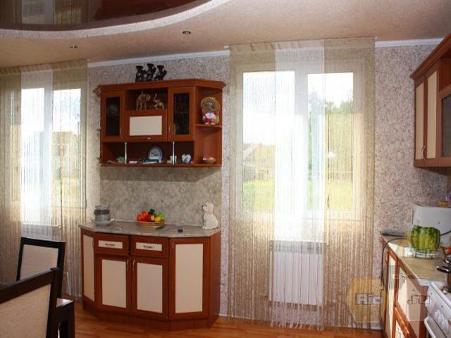 жидкие обои фото в кухне