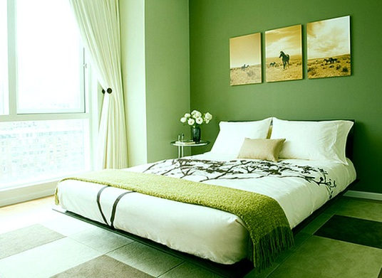 комбинация белого и зеленого