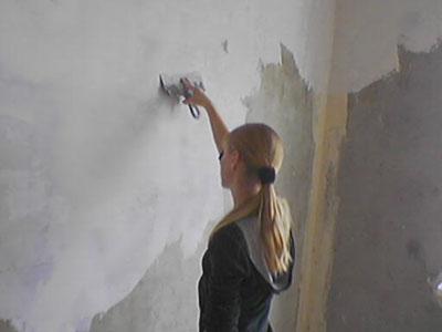Штукатурка цементная стен 4