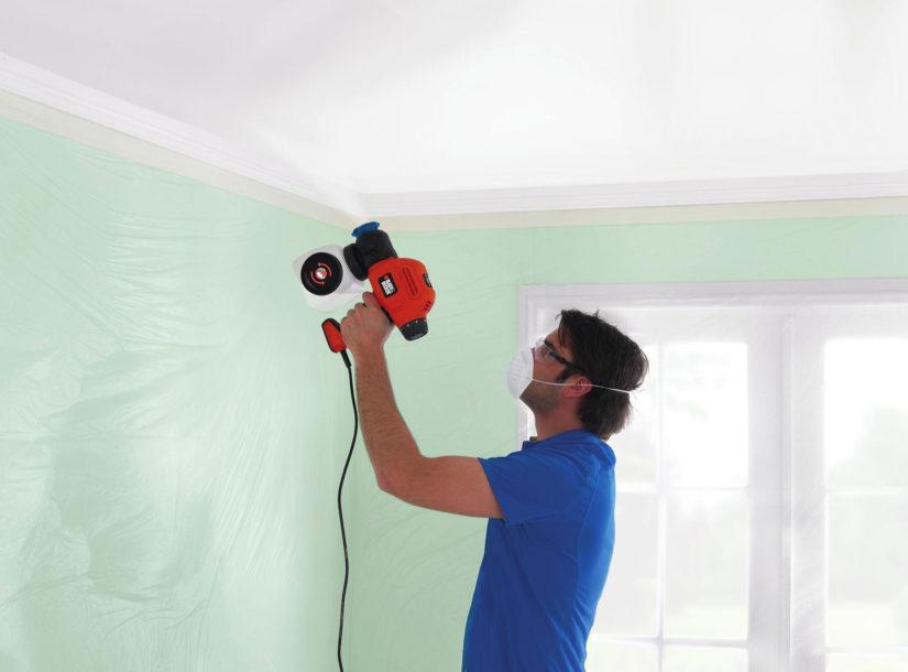 Краскопульт для декоративной покраски стен липецк гидроизоляция