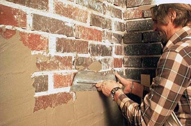 Штукатурка на кирпичную стену 5