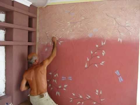 Покраска стен акриловой краской своими руками