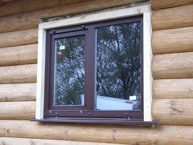 Вставить деревянное окно