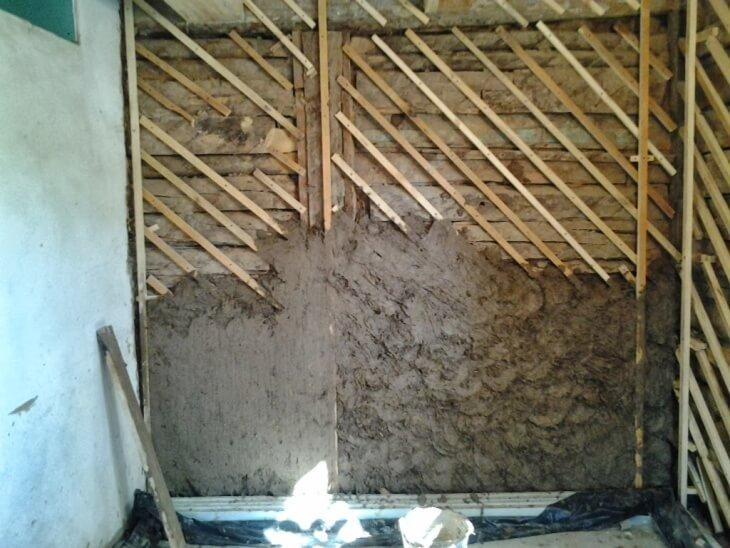 Выравнивание деревянных стен своими руками 5