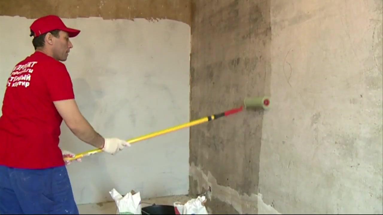 Подготовка стен к поклейке жидких обоев своими руками 78