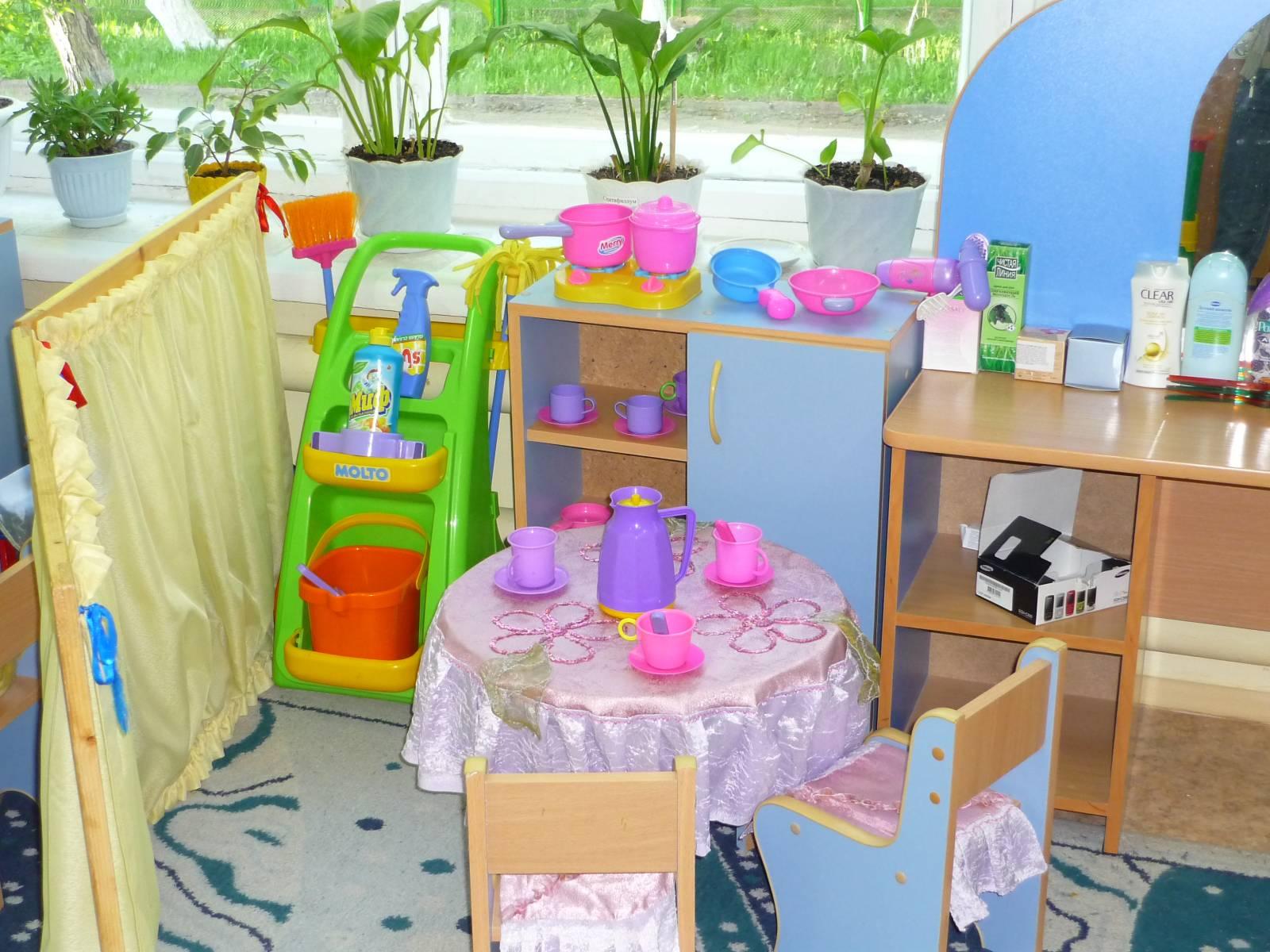 Зоны в детском саду своими руками фото