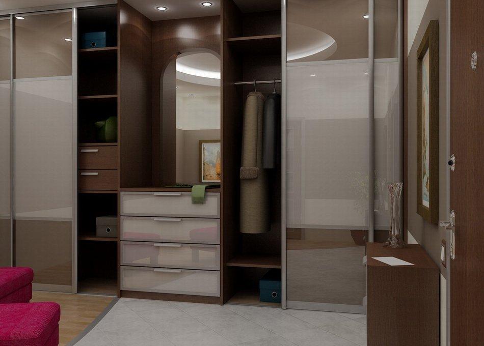 Шкафы-купе для прихожей фото современные идеи