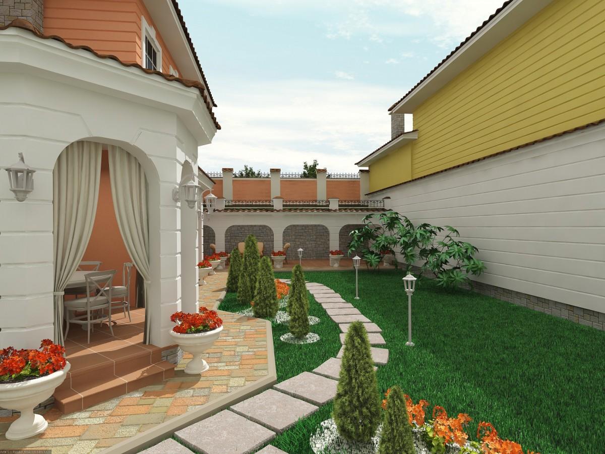 воротниковой области показать фото оформленного двора коттеджа тех, кто