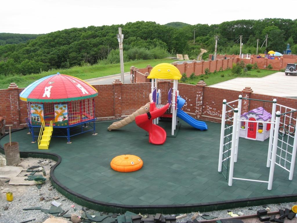 Детская площадка своими руками: фото-идеи 82