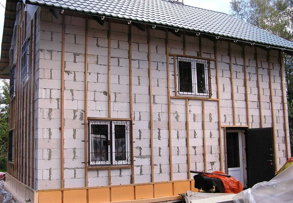 Своими руками утеплить фасад дома