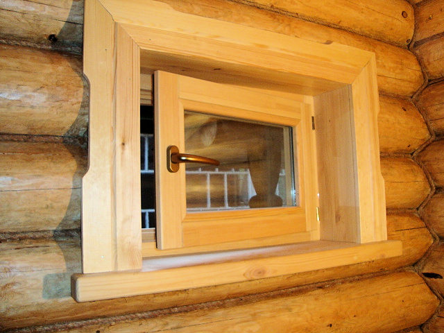 Как сделать окно для бани своими руками