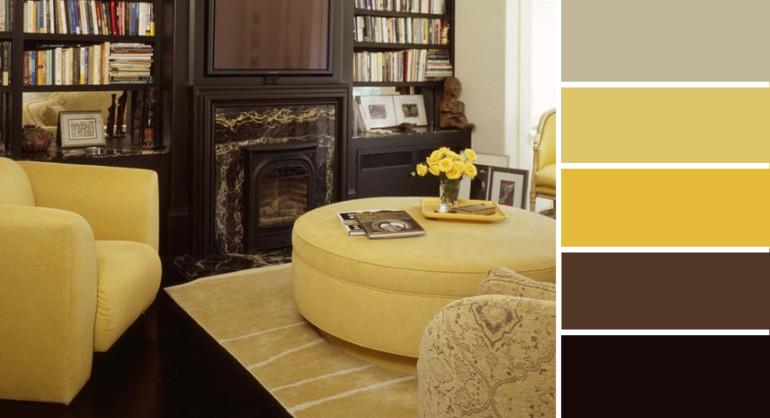 Сочетание цветов на мебели
