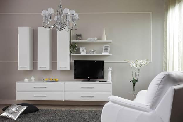 Цвет обоев для белой мебели