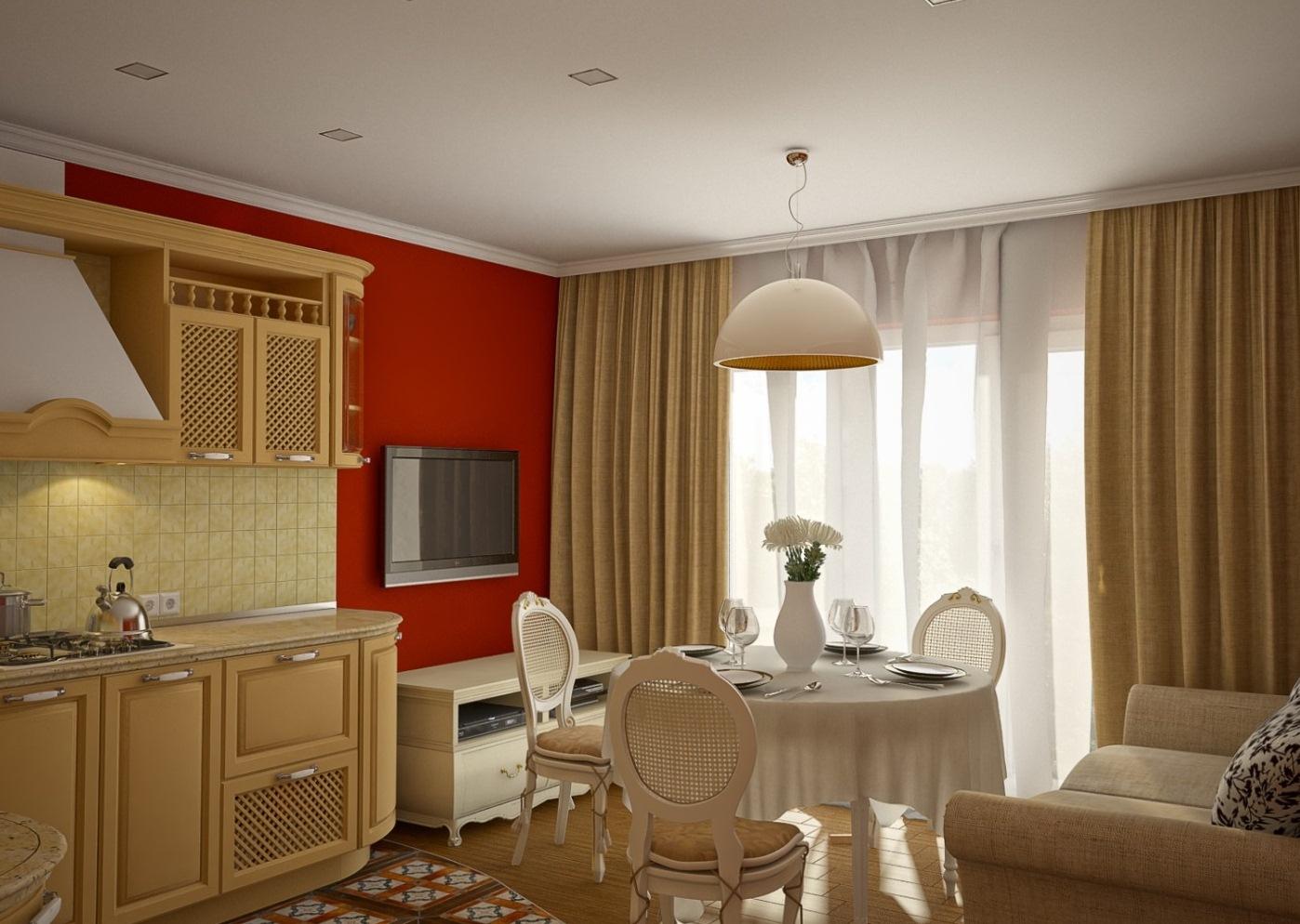 Дизайн кухни столовой гостиной 25 квм