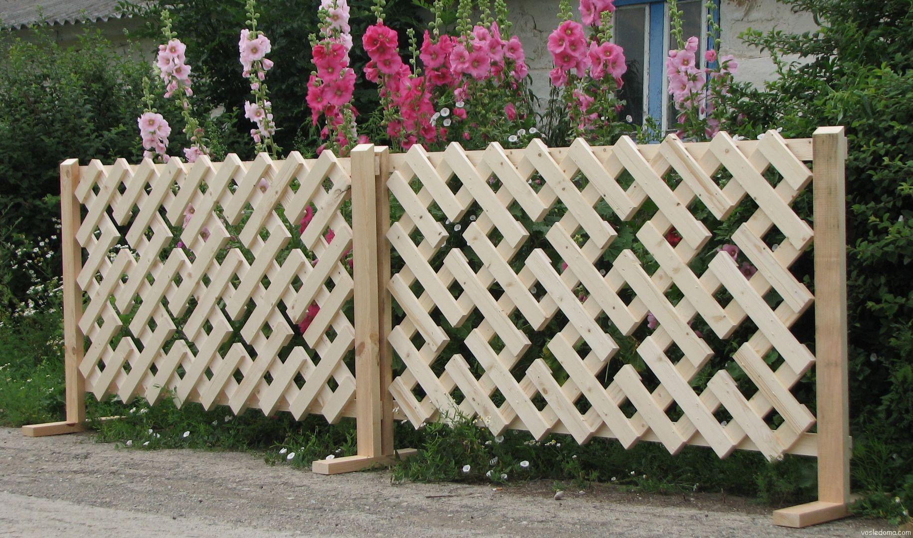 Как сделать красиво забор