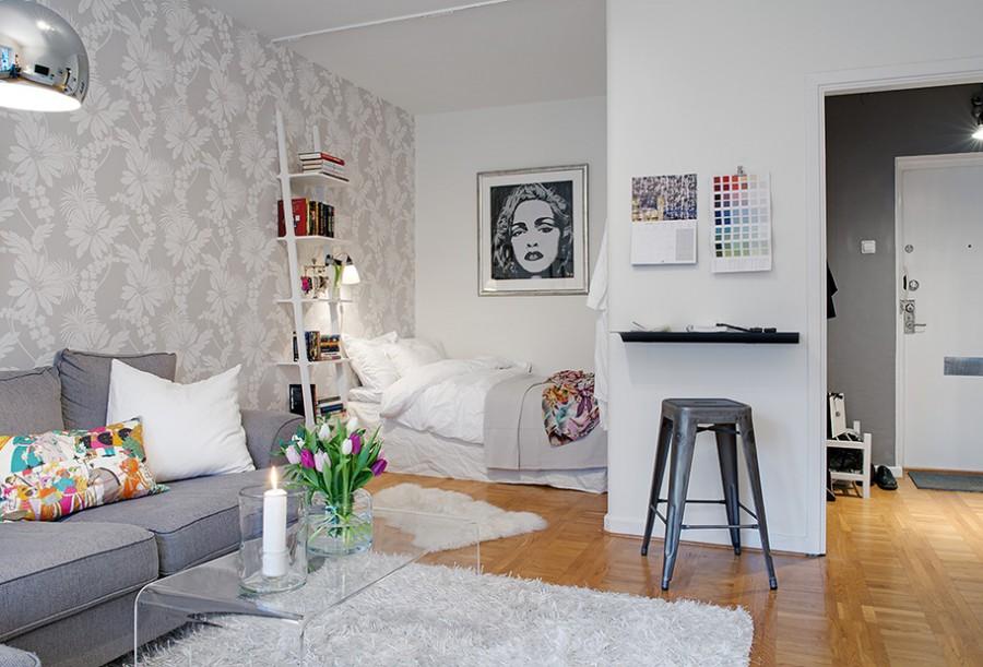 Маленькая однокомнатная квартира интерьер фото