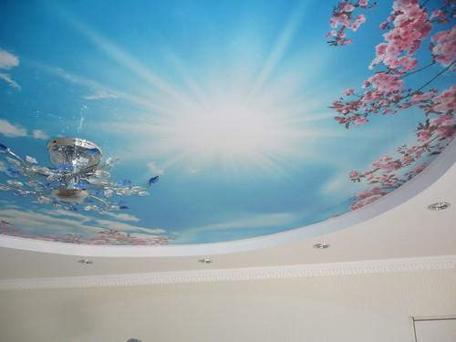 фотообои на потолок фото 3d