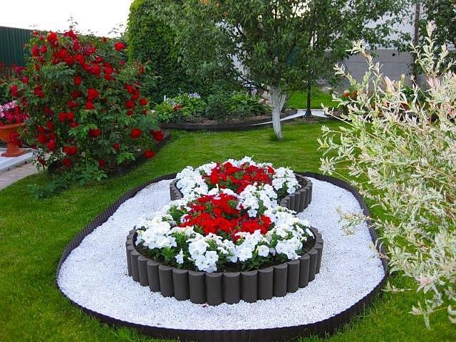 Цветы клумбы на даче