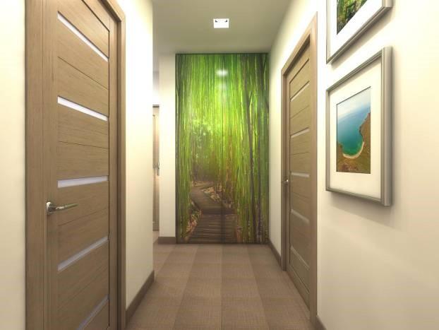 Фото современного ремонта в коридоре
