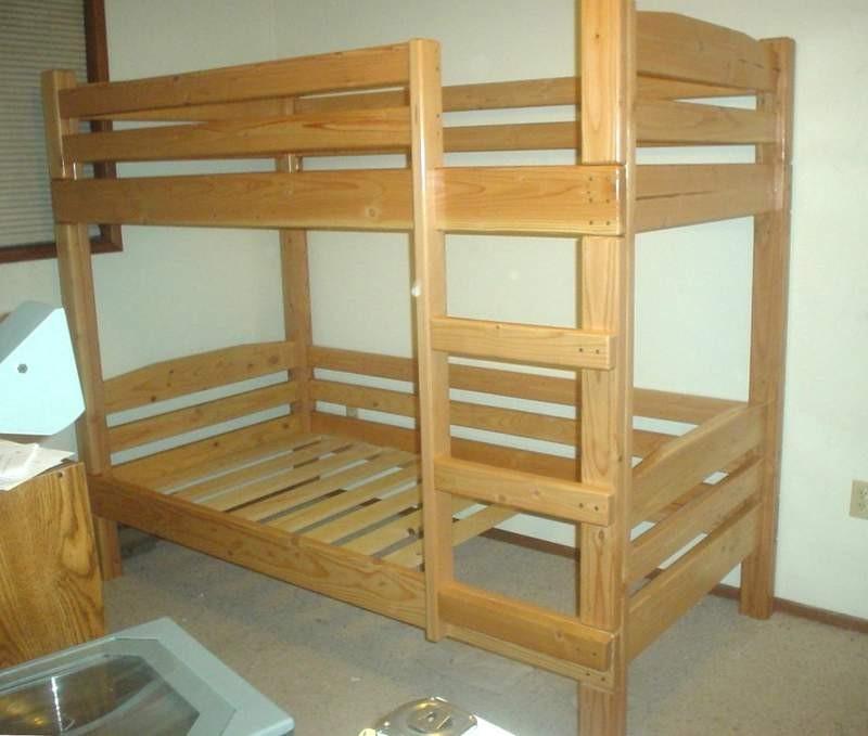 Двухъярусная кровать своими рукам
