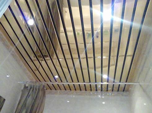 Алюминиевый зеркальный реечный потолок: особая своеобразность интерьера