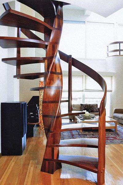 Винтовая лестница: изысканная конструкция с особой художественной ценностью
