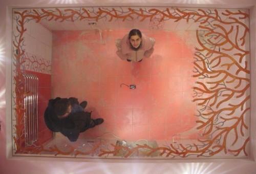 Зеркальный потолок в ванной: оригинальное исполнение для без проблемного использования