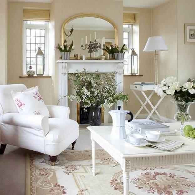 Дизайн интерьер белая мебель в интерьере гостиной