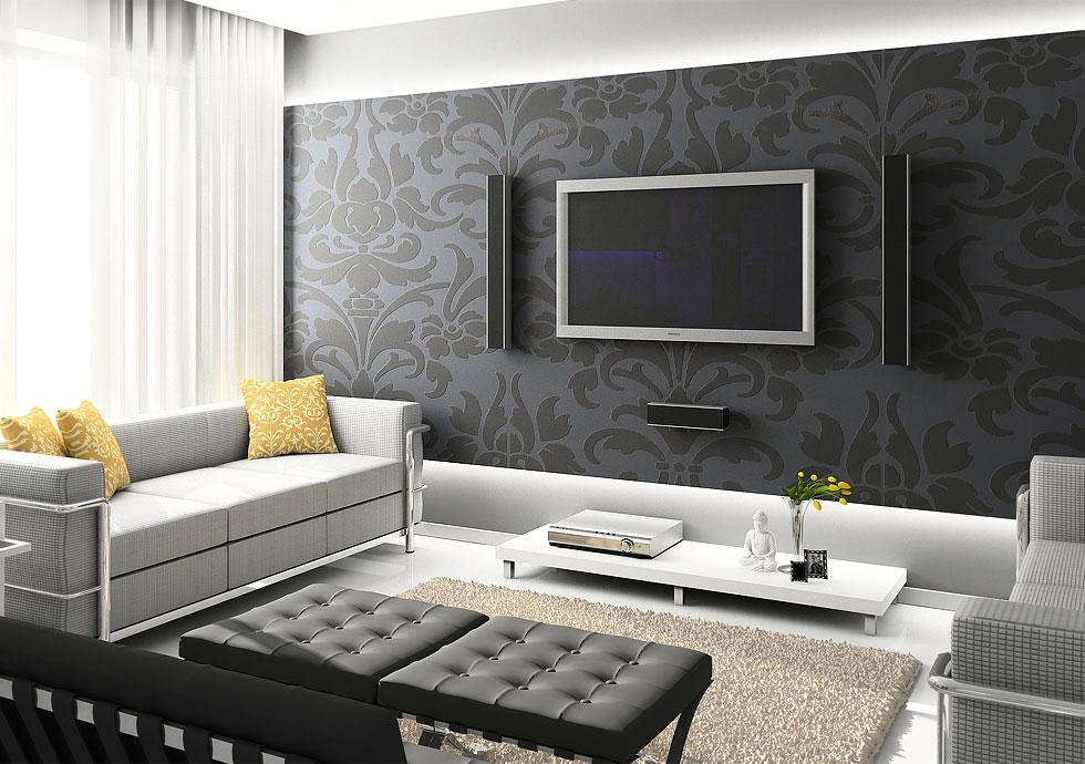 Картинки по запросу квартира в чёрных цветах